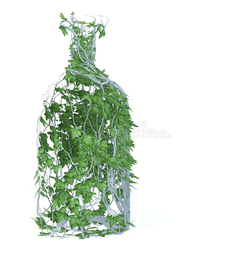 Pure Drink Of Spring Stock Photo