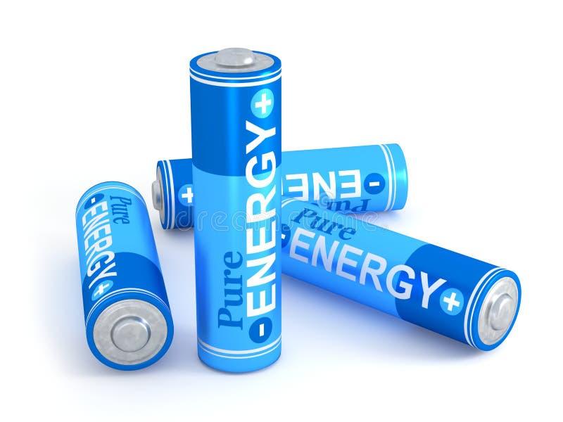 Pure energy royalty free illustration