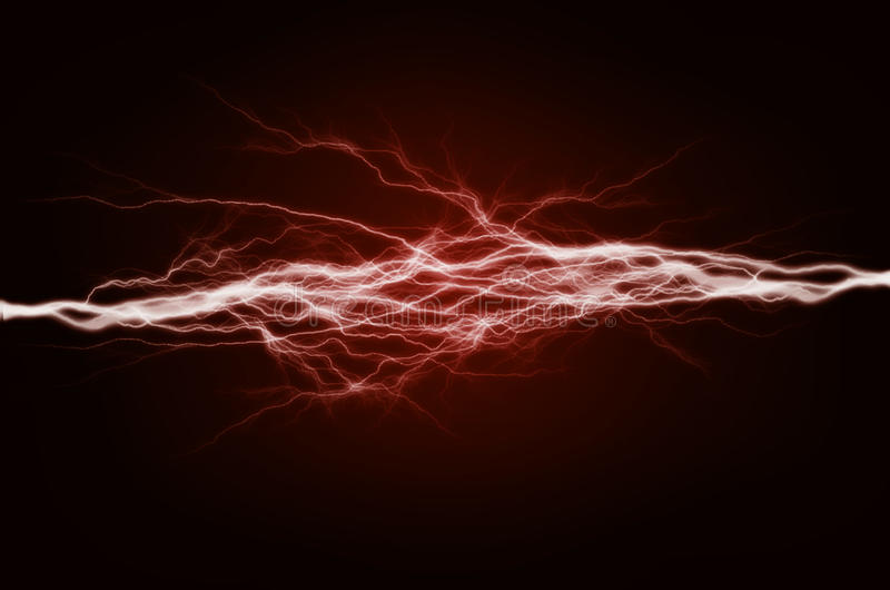 Pure Energy and Electricity vector illustration