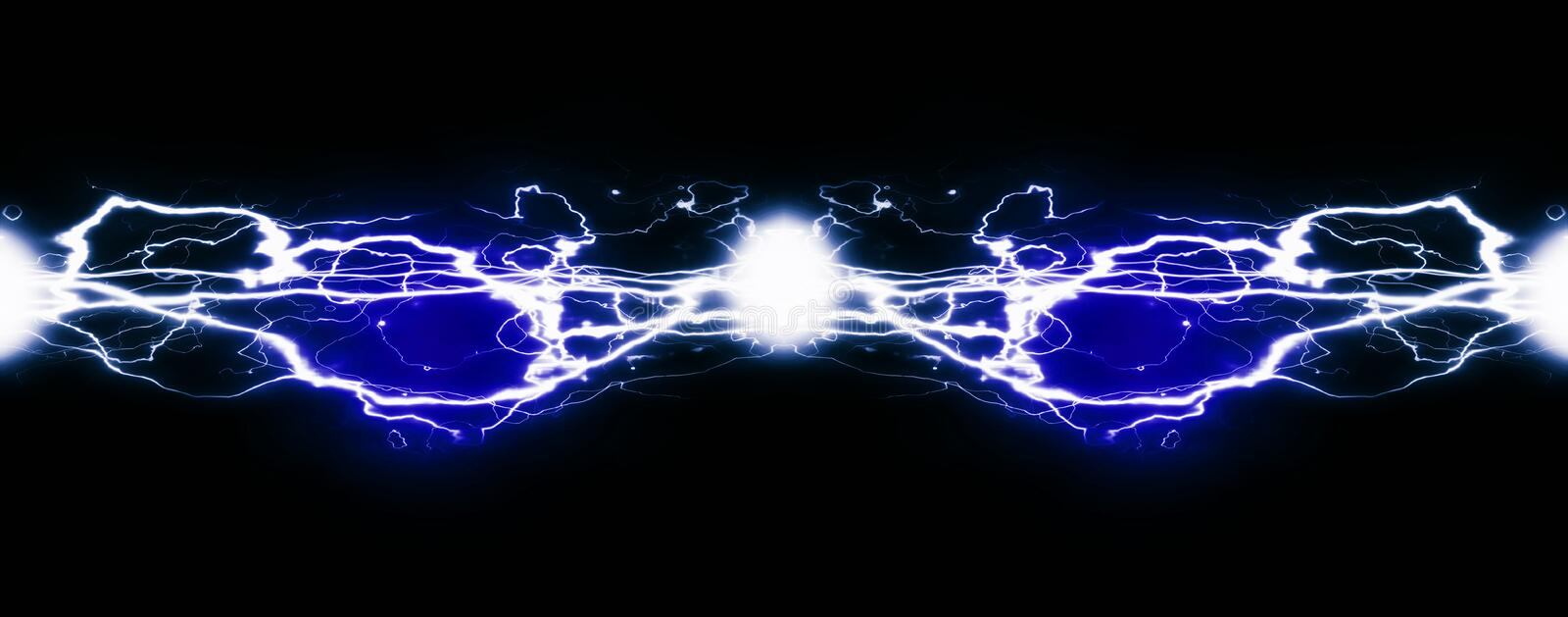 Pure Energy and Electricity Symbolizing Power stock photo