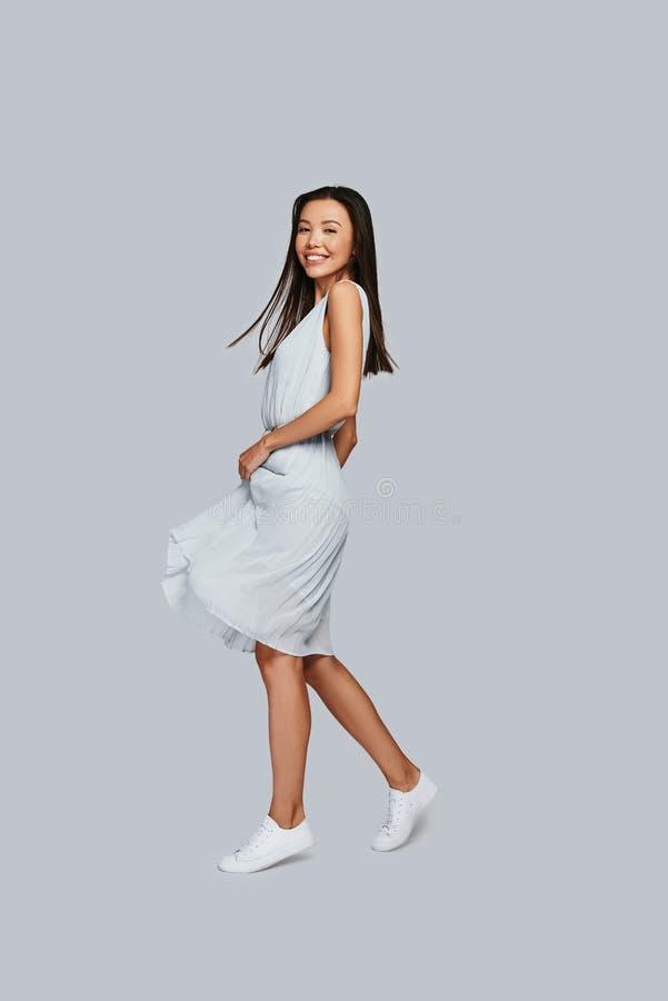 Pure feminine beauty. royalty free stock image