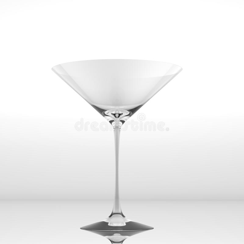 Download Pure glass for martini stock illustration. Image of cocktail - 15265855
