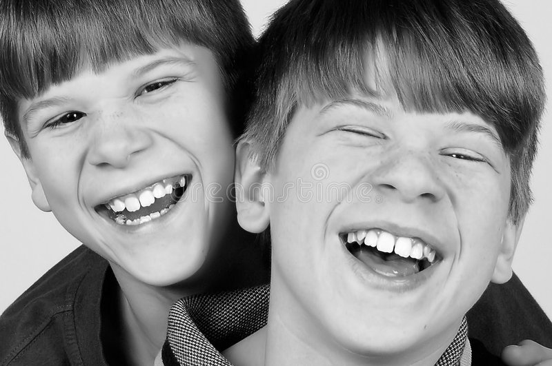 Download Pure Laughter stock image. Image of smilng, brotherhood - 4294123