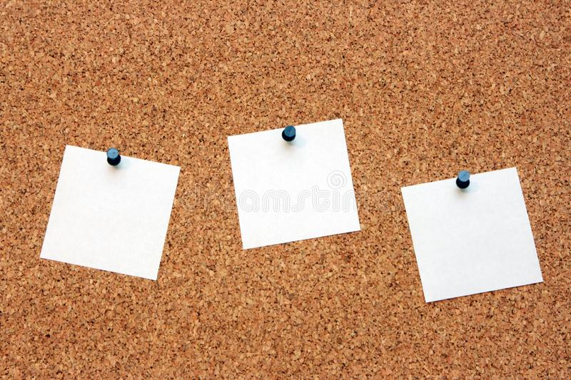 The pure pieces of paper royalty free stock photography