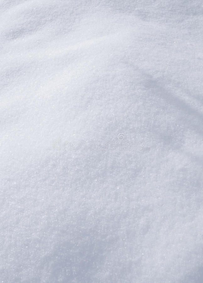 Pure Snow Stock Image