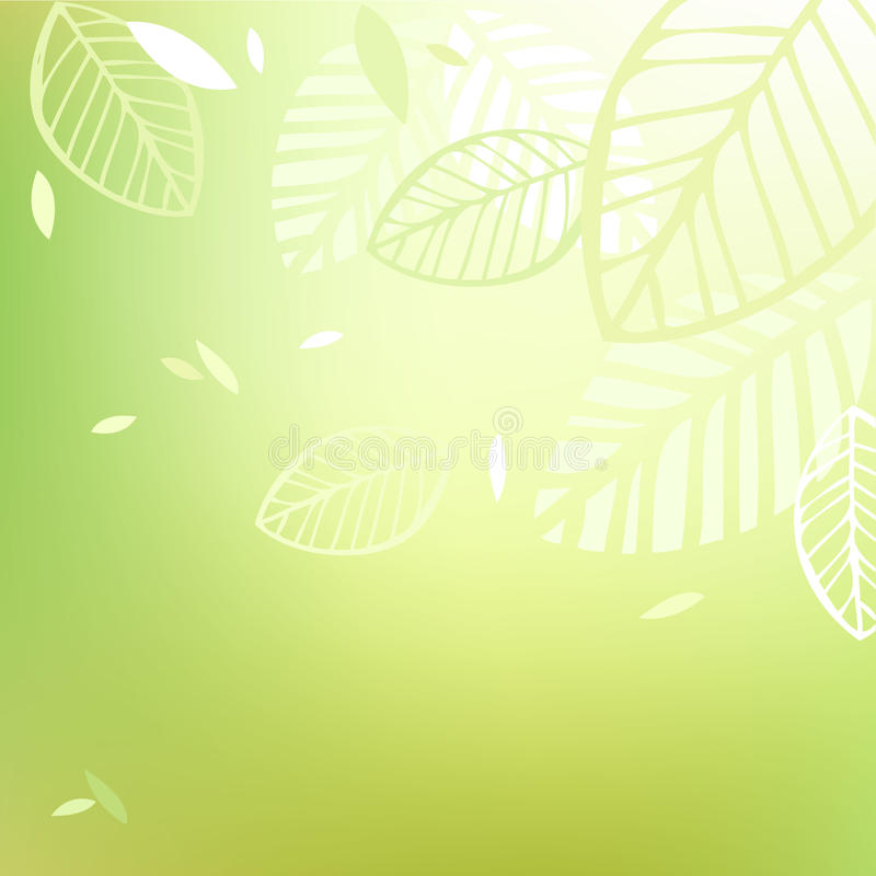 Pure spring background royalty free illustration