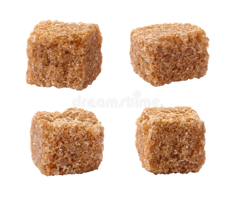 Download Pure Sugar Cane Cubes Isolated On White Stock Image - Image: 22067581