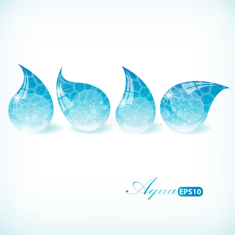 Download Pure Water Drop Set Royalty Free Stock Photos - Image: 32208698