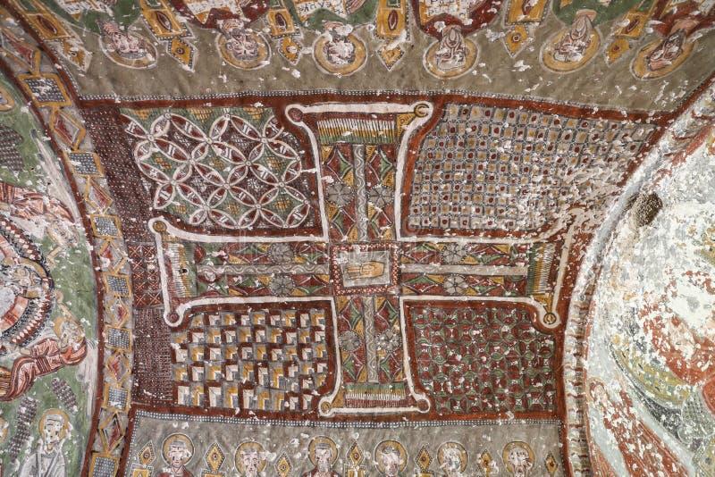 Purenli Seki Church in Ihlara-Tal, die Türkei stockbilder