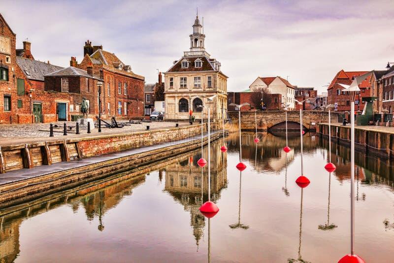 Purfleet Quay, Lynn de rey, Norfolk, Inglaterra fotos de archivo