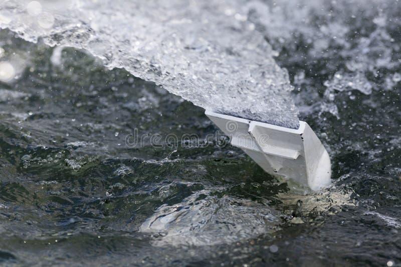 Purificação de água fotografia de stock