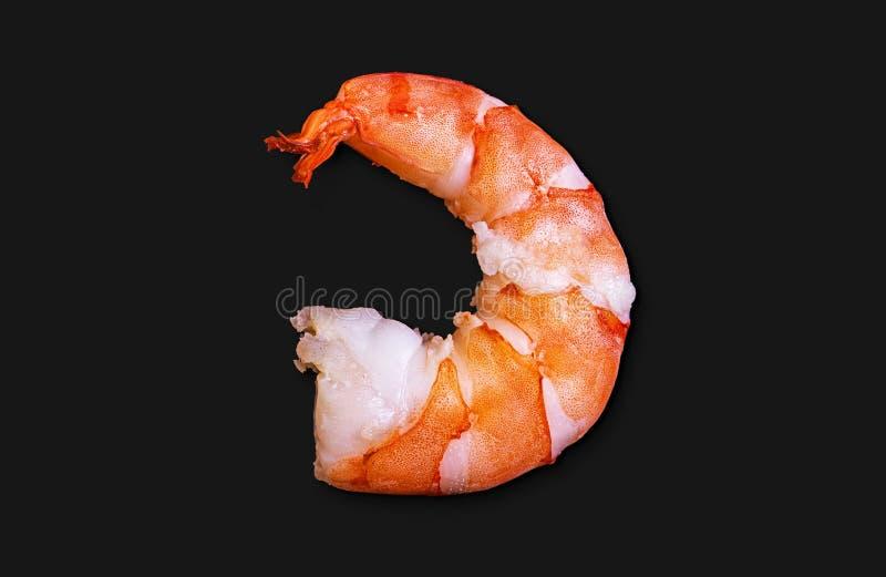 Purified ferveu o camarão real do jimbo imagens de stock