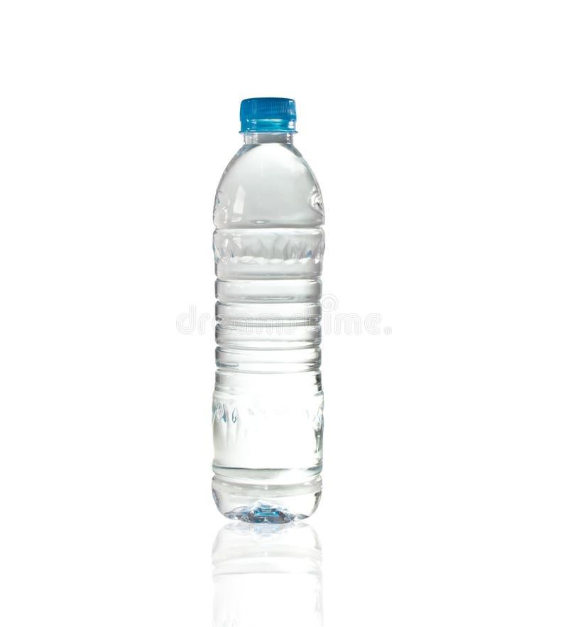 Purify a água bebendo em um frasco desobstruído imagens de stock royalty free