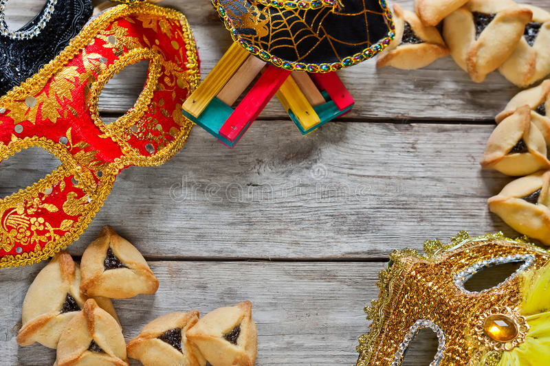 Purim background royalty free stock image