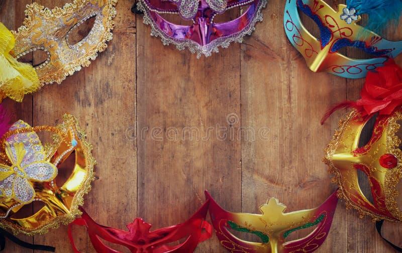 Purim beröm (judisk karnevalferie) Selektivt fokusera royaltyfria foton