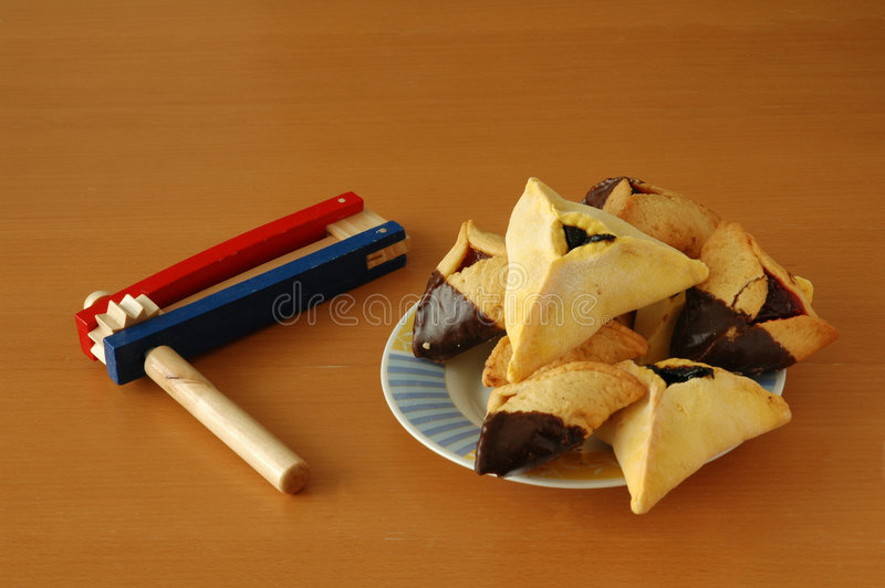 Download Purim icons stock photo. Image of holiday, religion, noisemaker - 577498