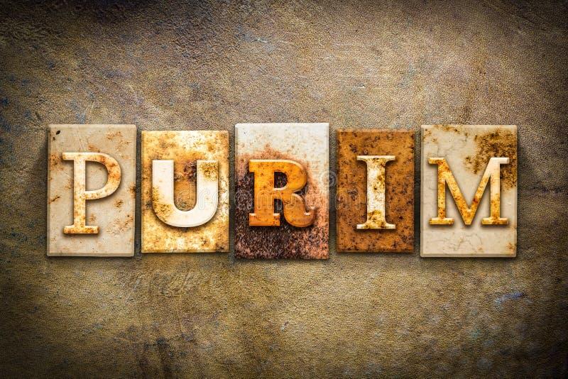 Purim-Konzept-Briefbeschwerer-Leder-Thema lizenzfreies stockfoto