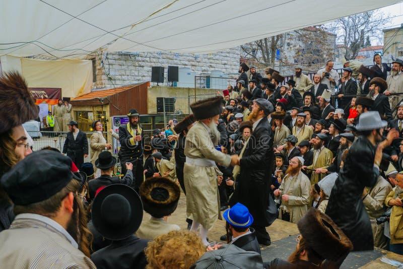 Purim 2016 no Jerusalém imagens de stock