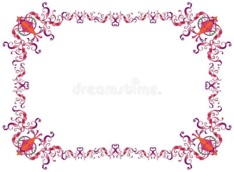 Purimkader royalty-vrije illustratie