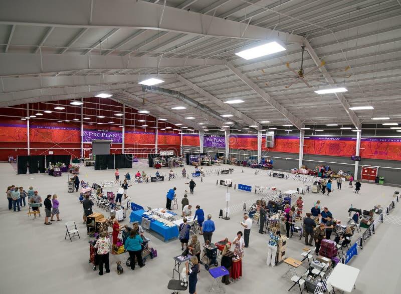 Purina Event Center Dog Show royalty free stock photo