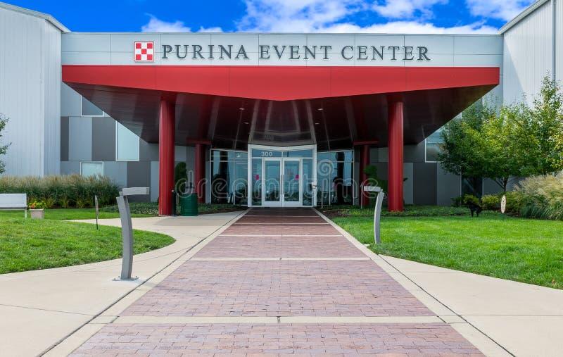 Purina Event Center Entrance Exterior stock images