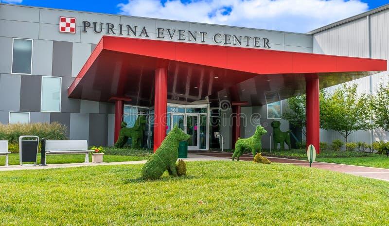 Purina Event Center Entrance Exterior stock photography