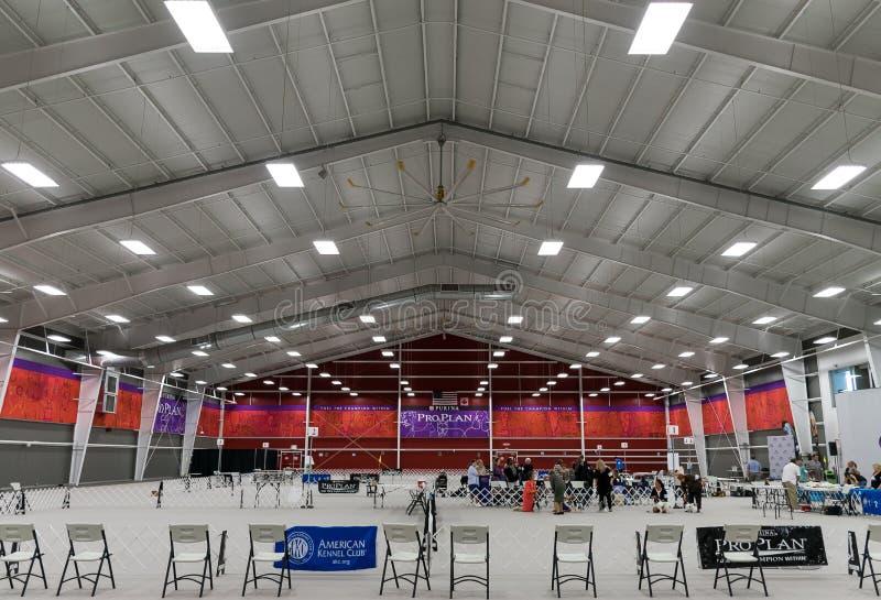 Purina Event Center Interior stock photo