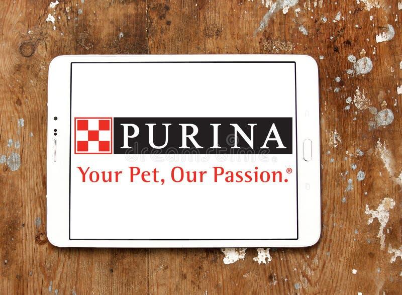 Purina zwierzęcia domowego jedzenia logo obraz royalty free