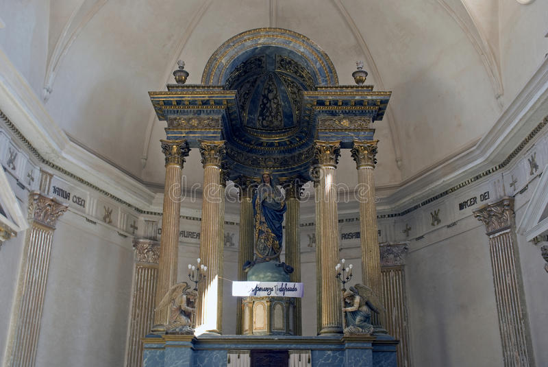 Purisima Concepcion Cathedral, Cienfuegos, Cuba royalty free stock image
