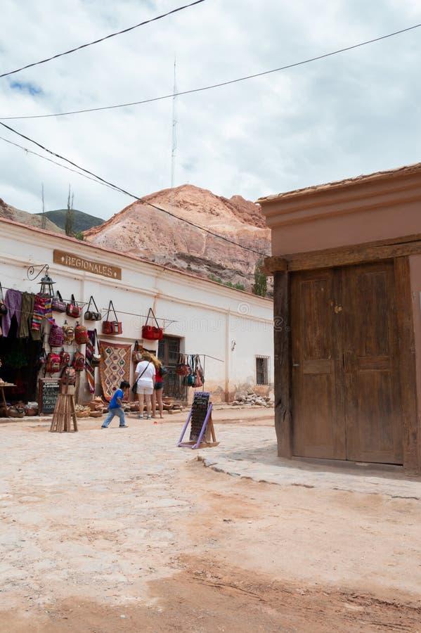 Purmamarca Jujuy Αργεντινή στοκ φωτογραφία με δικαίωμα ελεύθερης χρήσης