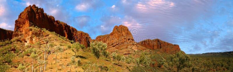 purnululu公园在澳大利亚西部 免版税库存图片