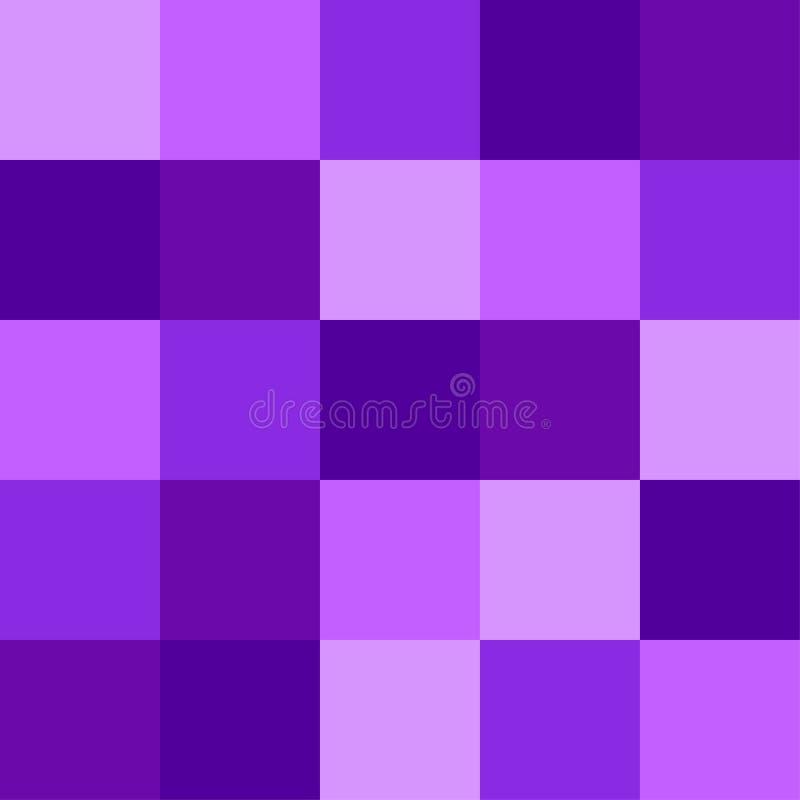 Purper 2019 de Kleurenpalet van in neonproton als abstracte naadloze achtergrond stock illustratie