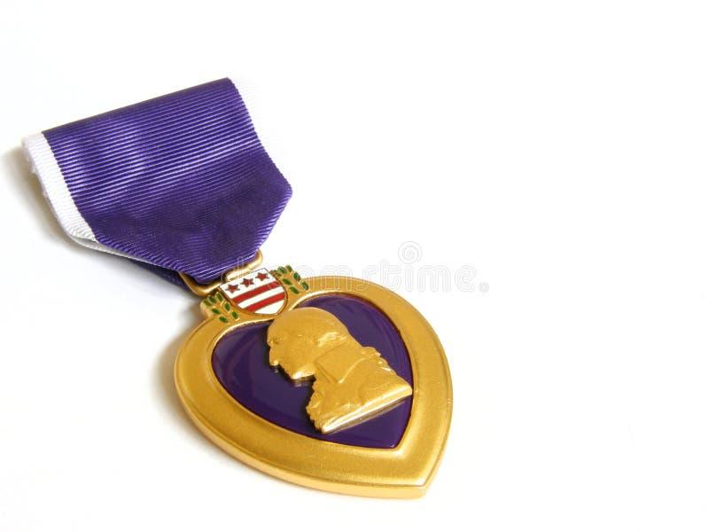 Purper hart royalty-vrije stock afbeeldingen