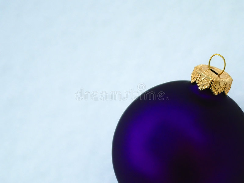 Purper Ornament Royalty-vrije Stock Afbeelding
