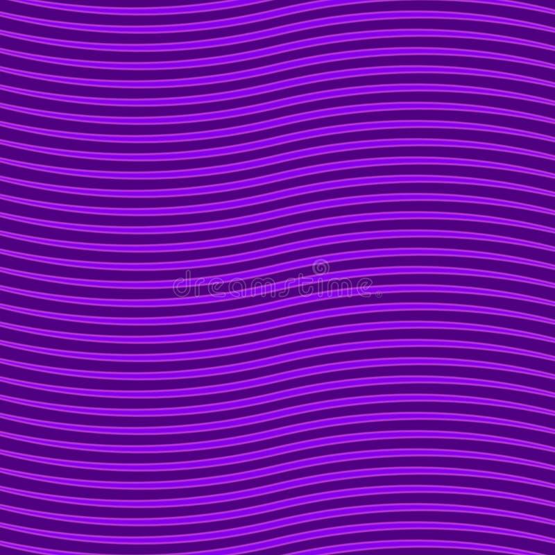 Purpere achtergrond, golfeffect neongloed, het vector creatieve neon van de achtergrond sociale voorzien van een netwerkgloed vector illustratie