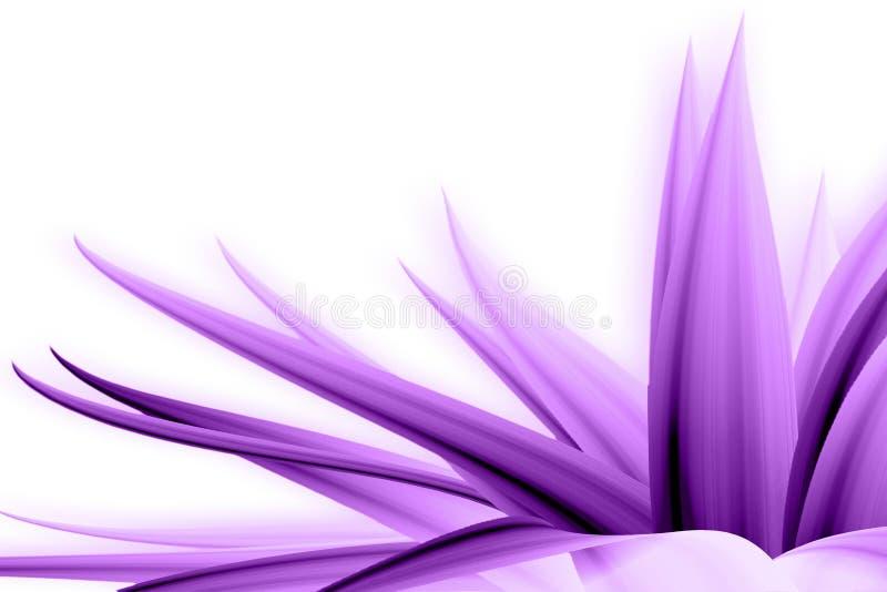 Purpere bloem vector illustratie