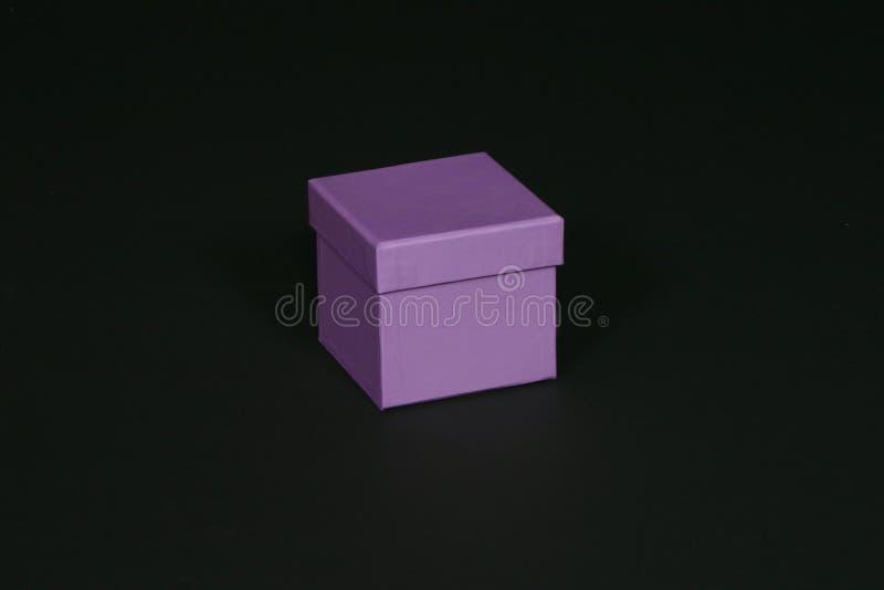 Purpere doos stock afbeeldingen