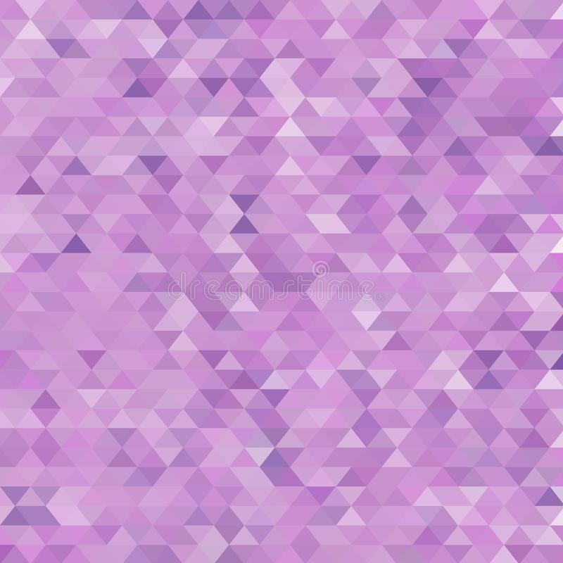 Purpere driehoekige achtergrond Lay-out voor reclame Eps 10 stock illustratie