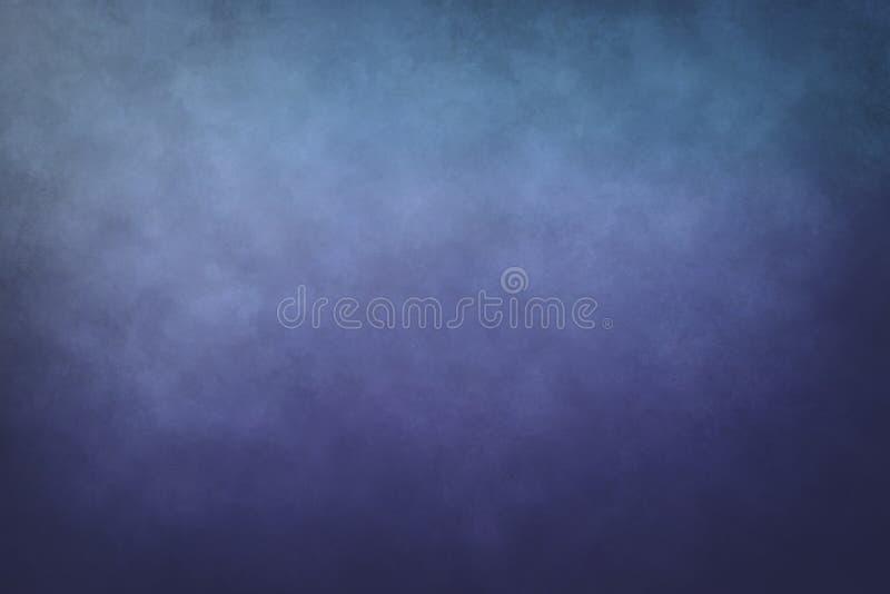 Purpere en blauwe abstracte achtergrond stock foto
