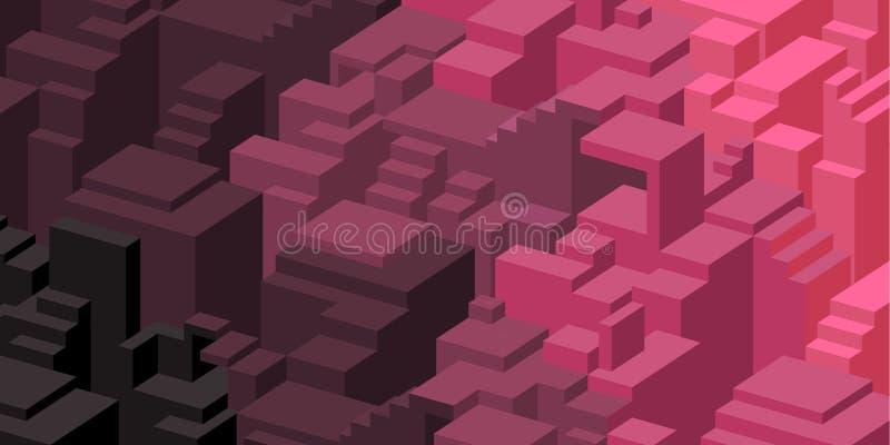 Download Purpere En Roze Ontwerpachtergrond Vector Illustratie - Illustratie bestaande uit brochure, modern: 54085913