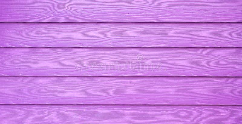 Purpere houten muur bacground stock foto's