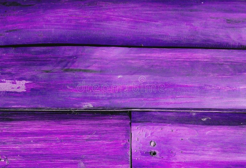 Purpere Houten Textuur royalty-vrije stock afbeeldingen
