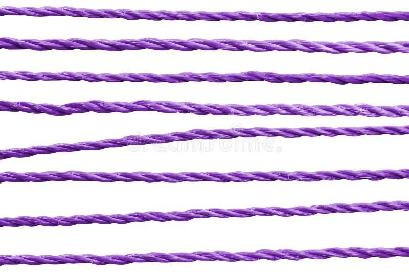 Purpere kabel. stock afbeeldingen