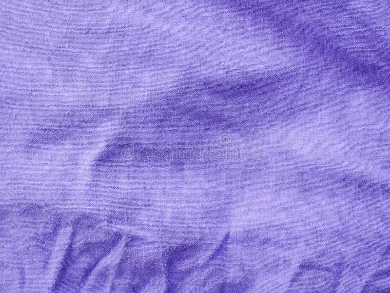Purpere katoenen stoffentextuur, Pastelkleurachtergrond van Purpere zijdetextuur stock fotografie
