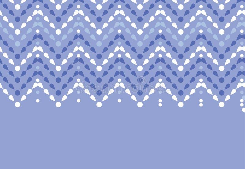 Purpere naadloze het patroonachtergrond van de dalingenchevron vector illustratie