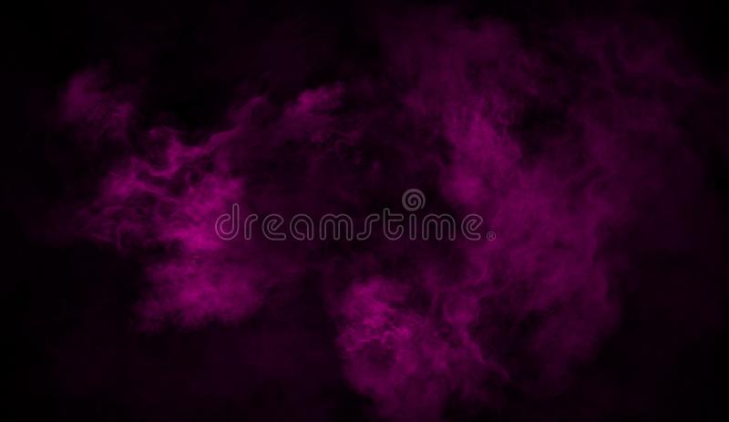 Purpere rook op de vloer De geïsoleerde achtergrond van textuurbekledingen stock fotografie