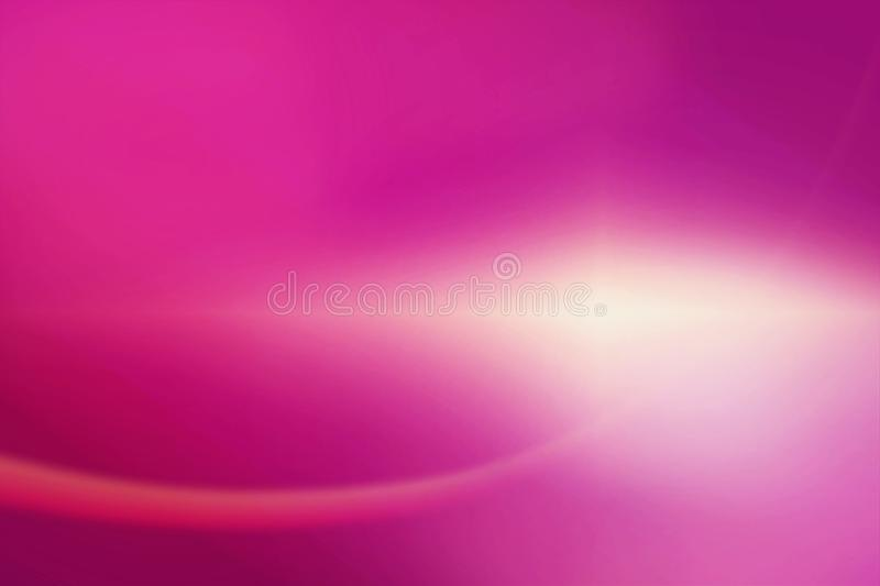 Purple abstract background and beam of light vector illustration