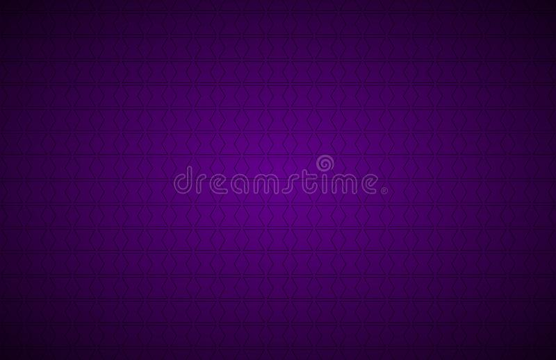 Purple abstract background, modern vector widescreen background royalty free illustration