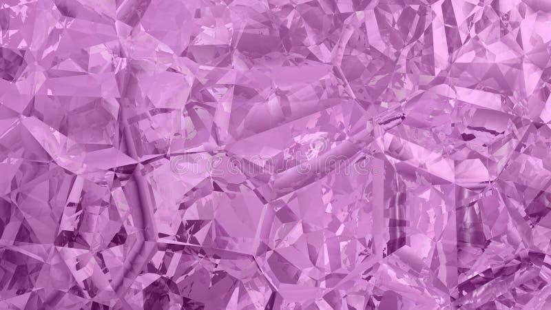 Purple Abstract Crystal Background Beautiful elegant Illustration graphic art design Background. Image stock illustration