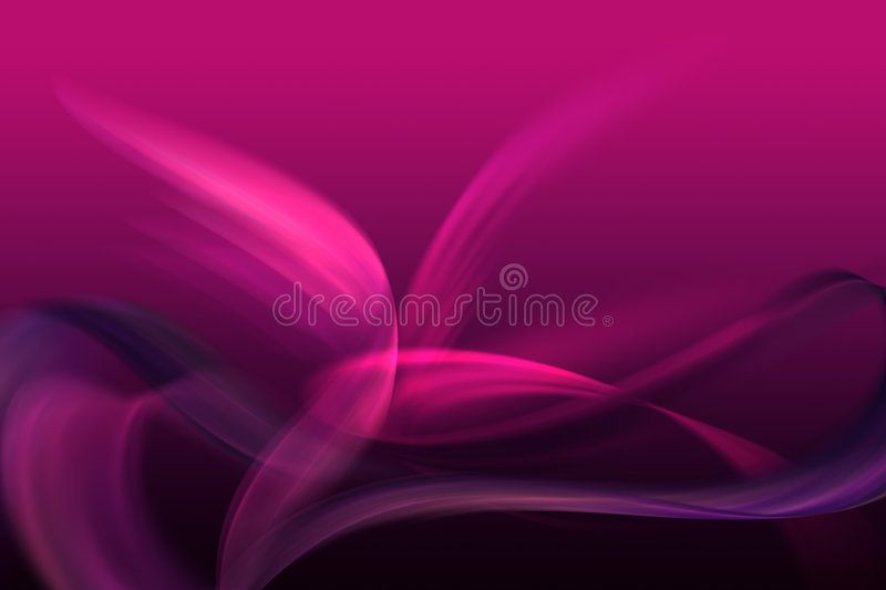 Purple abstract shapes